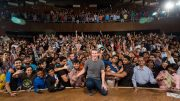 Mark Zuckerberg Townhall Q&A at IIT Delhi